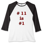 This design is for the Cardinal fan who loves having Larry Fitzgerald on their team.