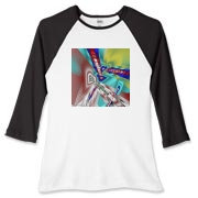 Scorpio Women's Fitted Baseball Tee