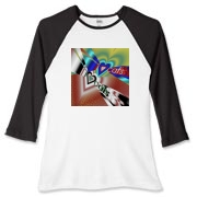 I Love Cats Women's Fitted Baseball Tee