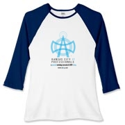 KC IT Professionals Women's Fitted Baseball Tee