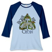 Bona Na Croin Women's Fitted Baseball Tee