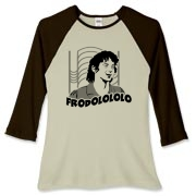 Frodolo Women's Fitted Baseball Tee $27.99