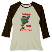 Future Enforcer Women's Fitted Baseball Tee