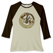 Nordic Ferret Women's Fitted Baseball Tee