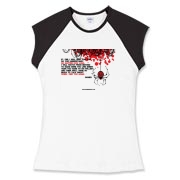 If I Die... Women's Fitted Cap Sleeve Tee