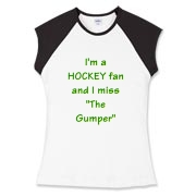 The Gumper Women's Fitted Cap Sleeve Tee