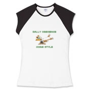 Pembroke Welsh Corgi rally-o t-shirts, with a funny twist! The dog is laying next to an orange cone that says down, but he's on his back with his legs up in the air. Awesome rally obedience humor for dog lovers that own corgis.
