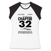 Chapter 32 Movie Poster Women's Fitted Cap Sleeve