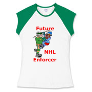 Future Enforcer Women's Fitted Cap Sleeve Tee