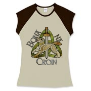 Bona Na Croin Women's Fitted Cap Sleeve Tee