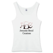 Awesome Breed Creations Women's Fitted Tank Top