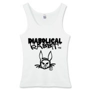 Diabolical Rabbit Graffiti Women's Tanktop