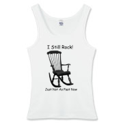 I Still Rock! Women's Fitted Tank Top