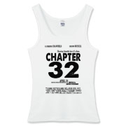 Chapter 32 Movie Poster Women's Fitted Tank Top