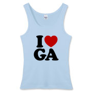 Our Georgia designs are available in a variety of clothing types - including t-shirts, ringers, hoodies and fitted girly t-shirts. You can also customize your purchases by selecting shirt colors (there are up to 70 colors to choose from!).