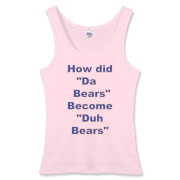 Duh Bears Women's Fitted Tank