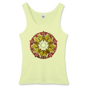 Celtic Bats Women's Fitted Tank Top