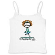 This BusyBodies Irish dancing stick figure makes a great gift for the Irish dancer!