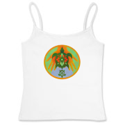 Turtle Hands Women's Fitted Camisole Tank