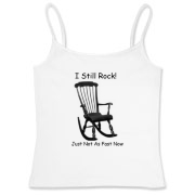 I Still Rock! Women's Fitted Camisole Tank