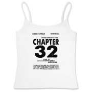Chapter 32 Movie Poster Women's Fitted Camisole Ta
