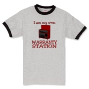 Warranty Station  Ringer T-Shirt