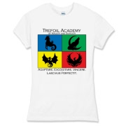 Show your Academy Pride with this t-shirt bearing the Trefoil Academy logo!