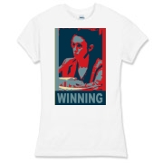 winning, casey anthony Women's Fitted Fine Jersey