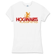 Gryffindor Leavers Women's Fitted Fine Jersey Tee
