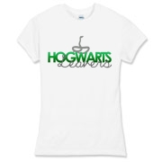 Slytherin Leavers Women's Fitted Fine Jersey Tee