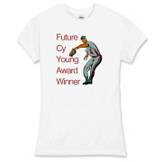 Future Cy Young Winner Women's Fitted Fine Jersey