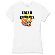 <h1><font size=2>Irish firefighter t-shirts, sweatshirts & tote bags.  For fire fighter gifts, mugs & travel mugs & t-shirts visit<b>