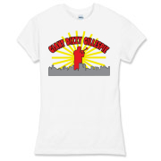 Giant Dizzy Gillespie Women's Fitted Fine Jersey T