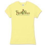 Roots & Sprouts Women's Fitted Fine Jersey Tee