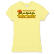From the hilarious opening song of Weeds. This design features warm earth tone colors and is perfect for any Weeds fan.
